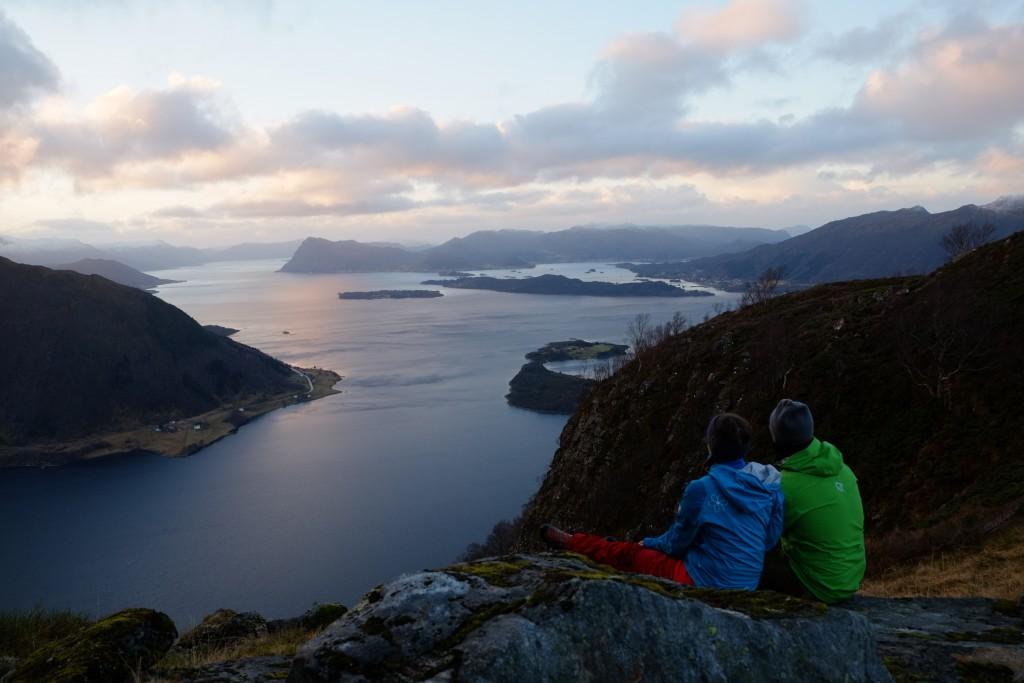 Kombinasjonen fjord og fjell