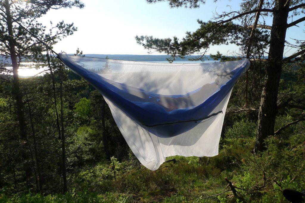 Myggnett for hengekøye