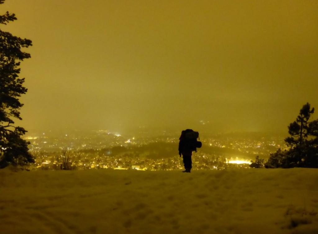 Vinternatt på en torsdag