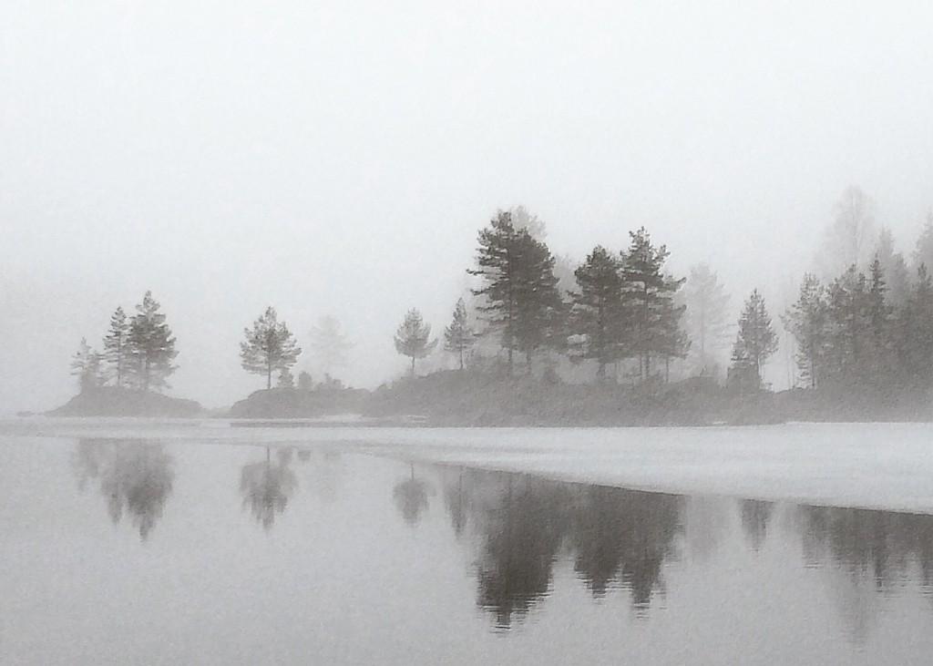 Trolske omgivelser ved Børtervann
