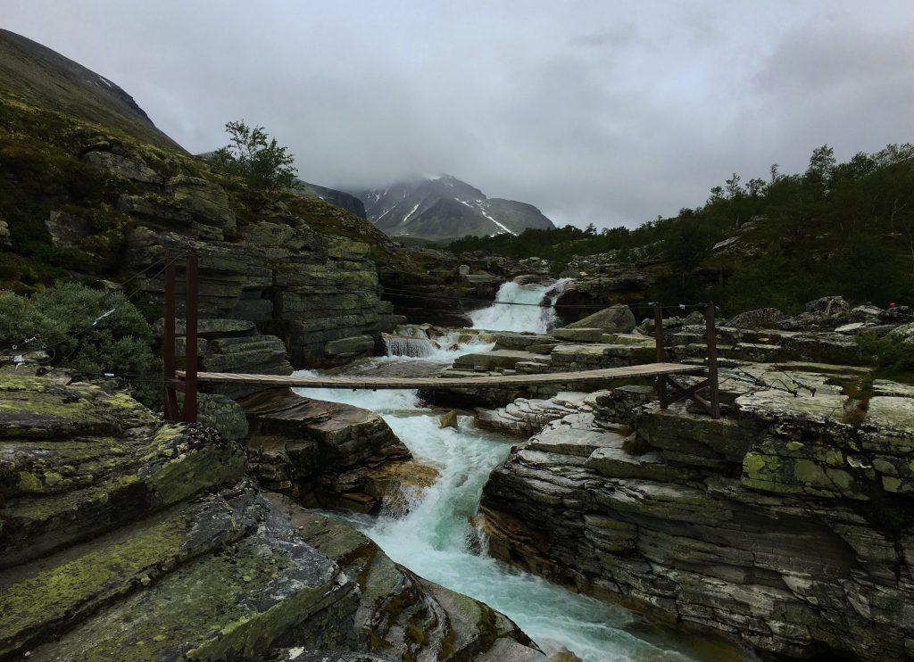 Et fint tips er å ha en av de fine broene i nærheten av Bjørnhollia som turmål