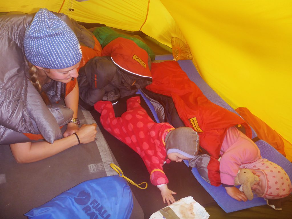 Telttur med barn er koselig og intimt